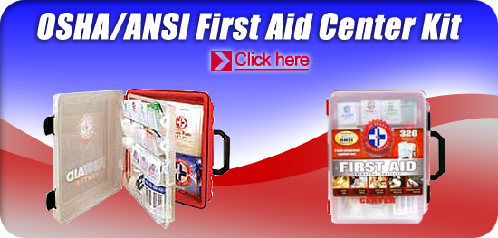 OSHA/ANSI First Aid Center Kit