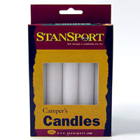 Slow Burning Emergency Candles - Pack of 5