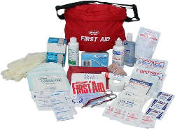EMT Kits - The Guardian First Aid Fanny Pack (48 Piece)