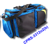 Deluxe O2 Trauma Bag (blue)