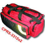 Deluxe O2 Trauma Bag (red)